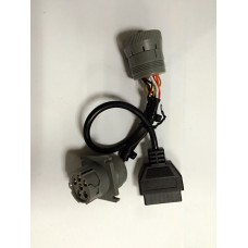 IPAE-CA-DS OBD, J1708 6 PIN HEAVY TRUCK CABLE